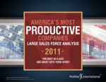 America's Most Productive Companies - Large Sales Force Analysis – Profiles International